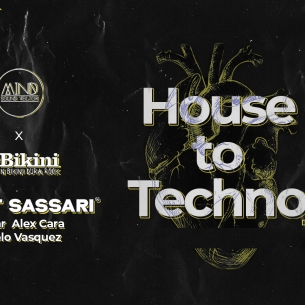 House to Techno #2 : MATT SASSARI + HAJAR + ALEX CARA + PAOLO VASQUEZ